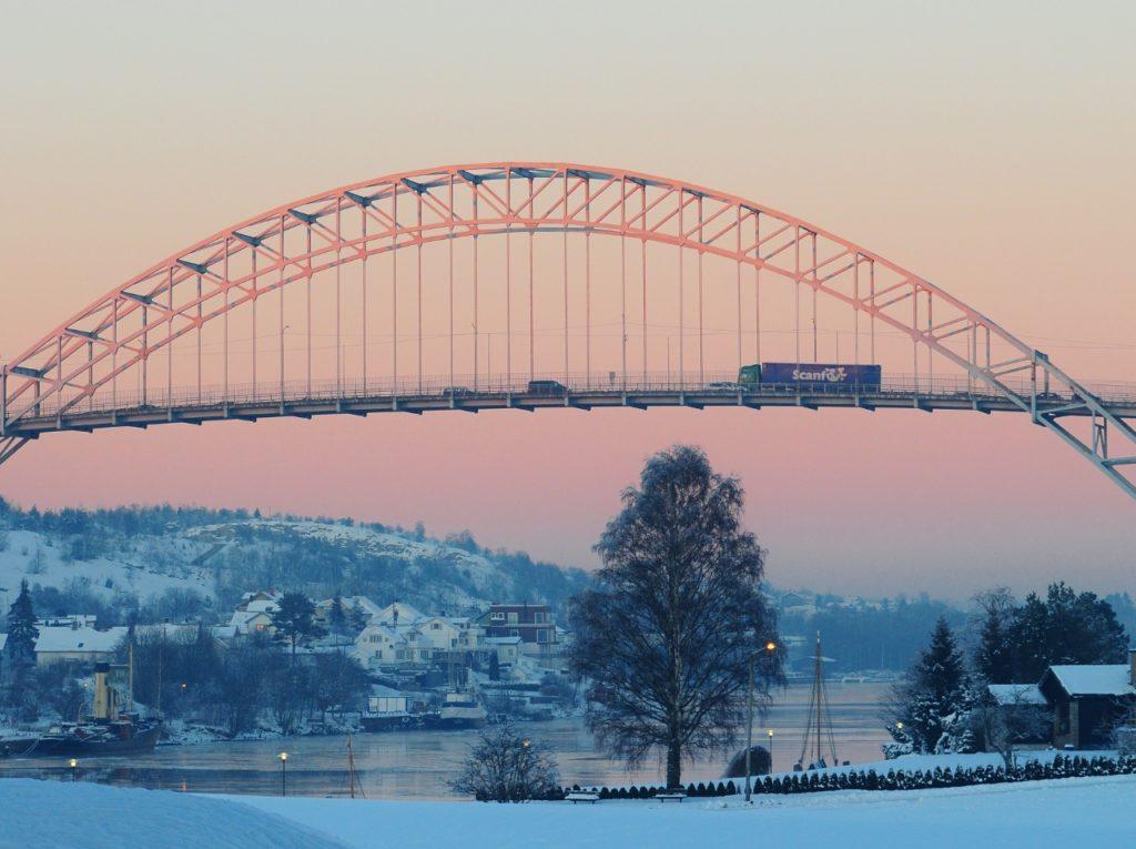 Fredrikstad-vinter