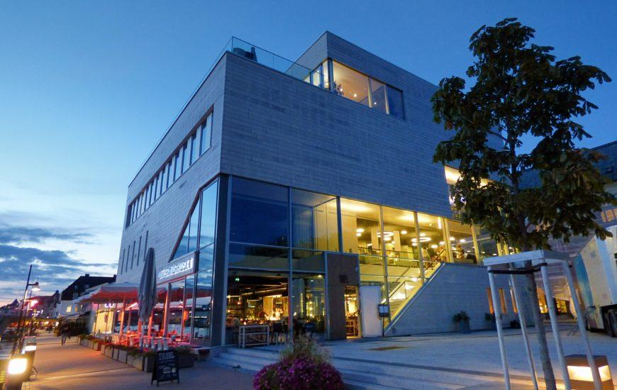 Litteraturhuset Fredrikstad logger midt i byen og er 3000 kvadratmeter stort