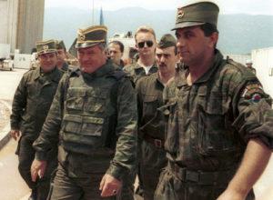 Den bosnisk-serbiske generalen Radko Mladic er dømt til livstids fengsel for sin rolle i Srebrenica-massakren i 1995.