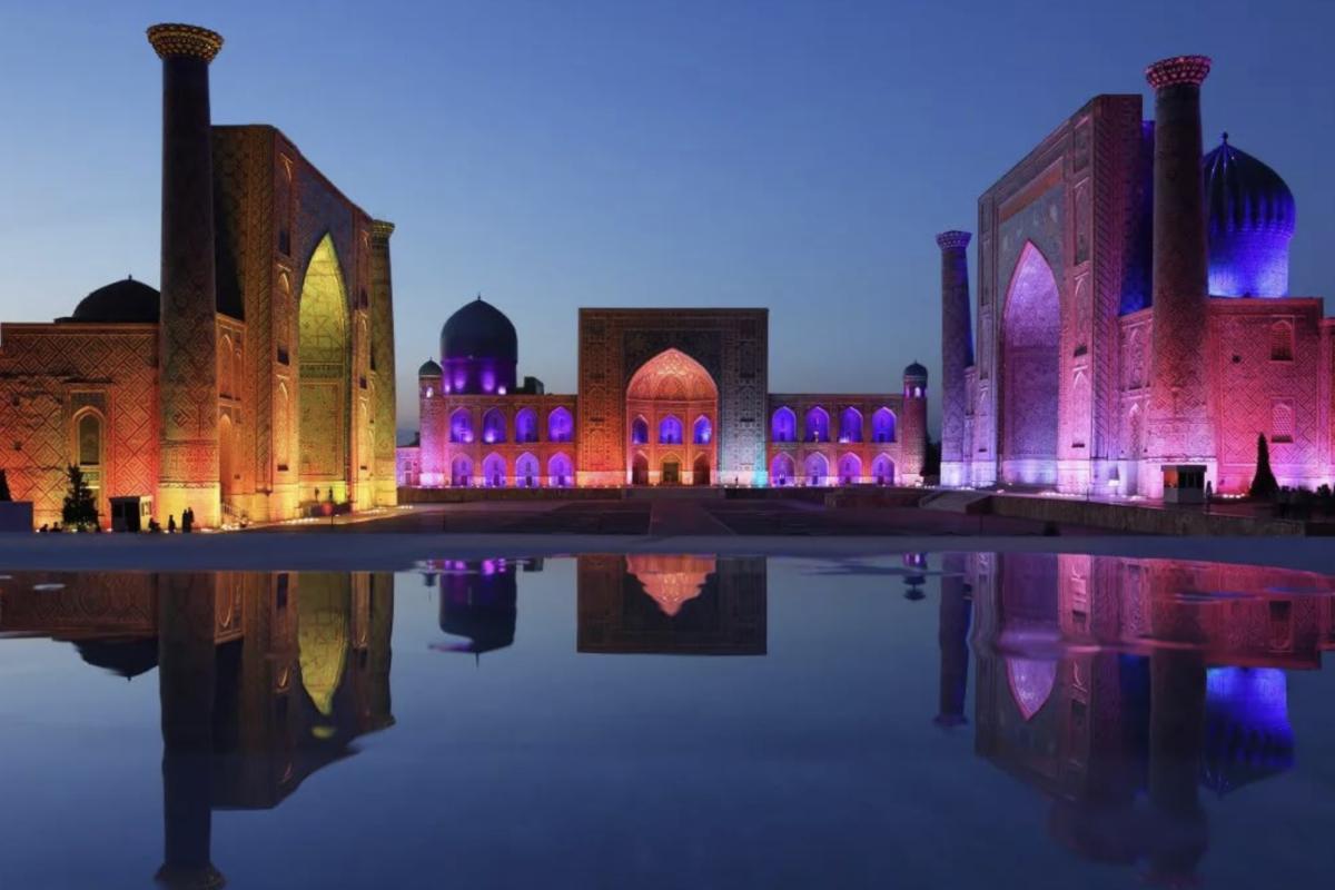 Samarkand, Uzbekistan. Foto: Jama Sadikov