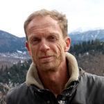 Richard Bærug bor og driver hotell i fjellregionen Svaneti i Georgia. Foto: Roy Freddy Andersen / pencil.no