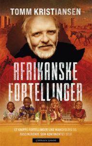 Dette er bokomslaget til Afrikanske fortellinger av Tomm Kristiansen